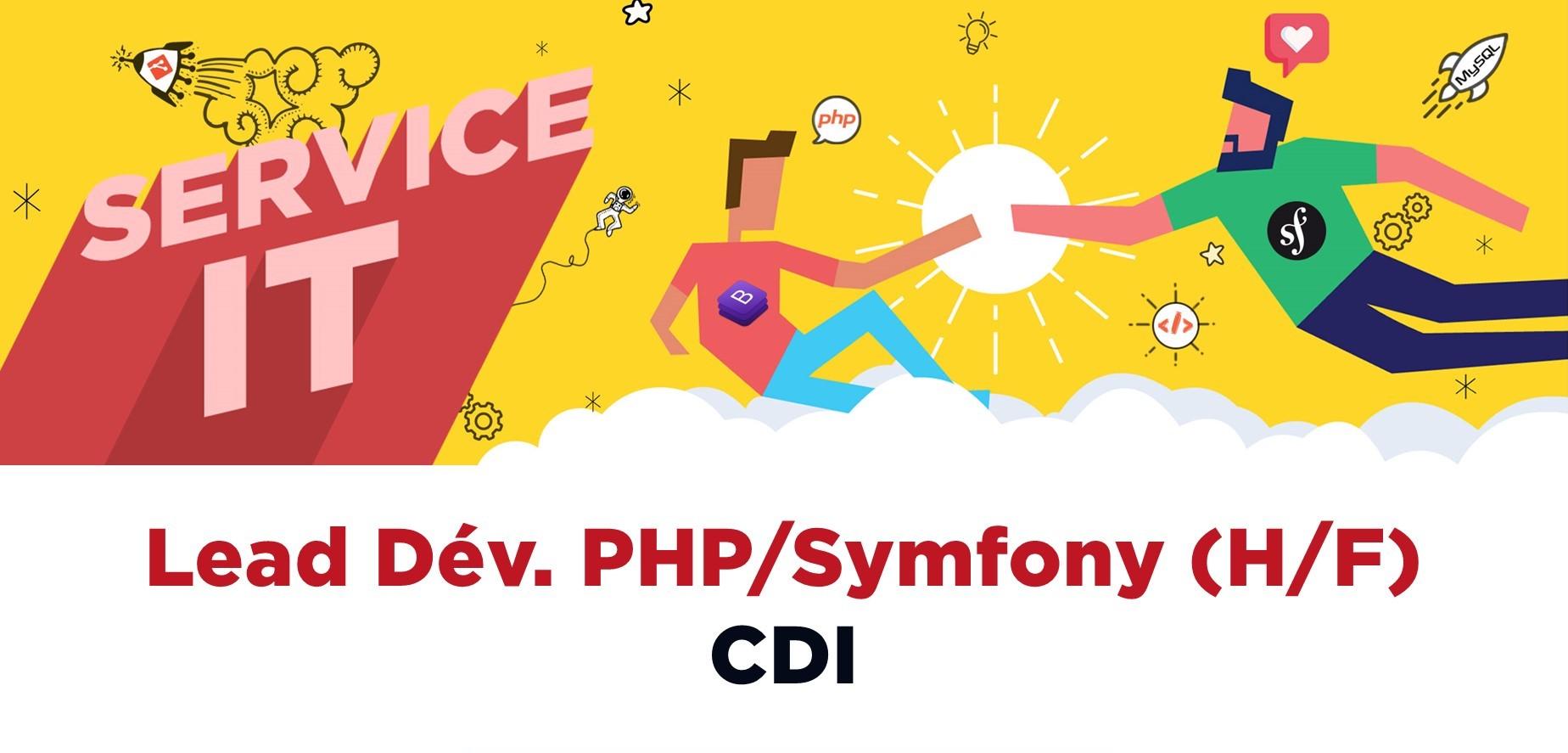 Lead Dév. PHP/Symfony