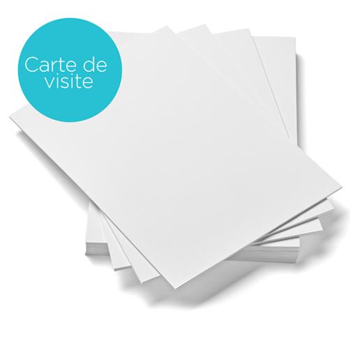 Papier pour carte de visite