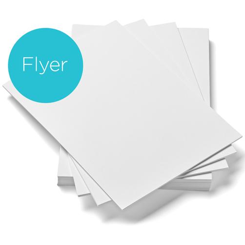 Papier pour flyer
