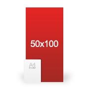 banderole publicitaire 50x100