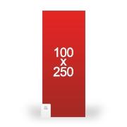 banderole publicitaire 100x250