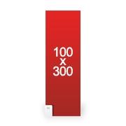 Stickers 100x300 cm
