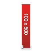 banderole publicitaire 100x500 cm