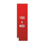 banderole publicitaire 150x400