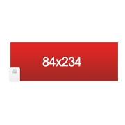 banderole 84x234