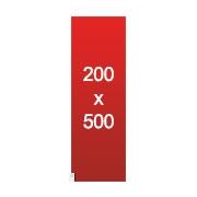 banderole xxl 200x500
