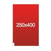 banderole XXL 250x400