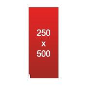 banderole XXL 250x500
