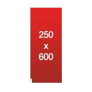 banderole XXL 250x600