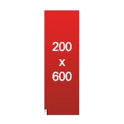 banderole XXL 200x600