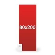 Totem L-Banner 200x80 cm